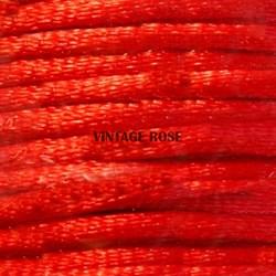 Шнур атласный, 1 мм. Красный - фото 10259