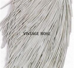 Канитель мягкая, 1 мм, Морозное матовое серебро - фото 11566