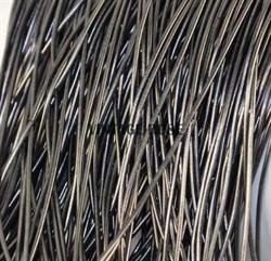 Канитель мягкая, 1 мм, Серый матовый - фото 12951