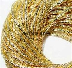 Граненный трунцал, 3 мм, Светлое Золото - фото 13032