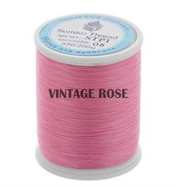 Нитки Sumiko Thread STP1-05 розовые (для люневильской вышивки) - фото 13139