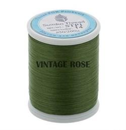 Нитки Sumiko Thread STP1-14 зеленые (для люневильской вышивки) - фото 13157