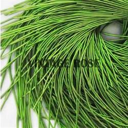 Канитель мягкая, 1 мм, Травяной глянцевый, 130 см - фото 14653