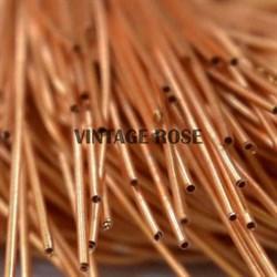 Канитель мягкая, 1 мм, Ярко-оранжевый глянцевый, 130 см - фото 14656