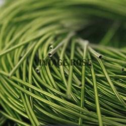 Канитель мягкая, 1 мм, Травяной глянцевый, 130 см (Зеленый) - фото 14658