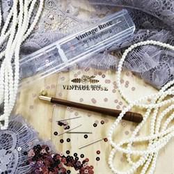 """Люневильский крючок ясень с 4мя иглами бренда Vintage Rose """"Анри Марсель"""" - фото 15048"""