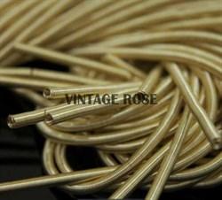 Канитель мягкая, 3 мм, Светлое золото - фото 15188