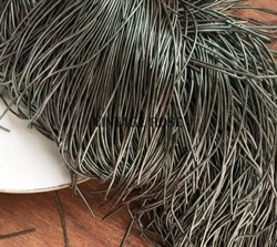 Канитель мягкая, 1 мм, темно-оливковая - фото 15245