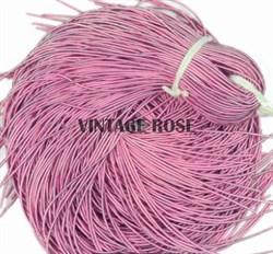 Канитель мягкая, 1 мм, розовая матовая - фото 15246