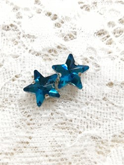 Стразы Звезды 10 мм. 3 шт/уп. Морские - фото 15349