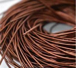 Канитель мягкая, 1 мм, Красная Бронза - фото 16125