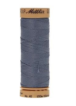 Нитка для Люневильской вышивки вощеная METTLER EXTRA STARK Василек 150 метров - фото 16677