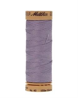 Нитка для Люневильской вышивки вощеная METTLER EXTRA STARK Лаванда 150 метров - фото 16679