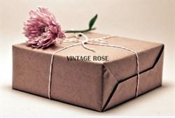 Стартовый Серебряный  набор для основ люневильской вышивки Vintage Rose - фото 8392