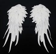 Кружевные аппликации крылья