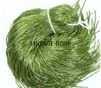 Граненный трунцал, 1 мм,  Светло Зеленый