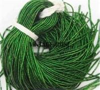 Граненный трунцал, 1 мм,  Темно-Зеленый