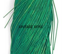 Канитель мягкая, 1 мм, Зеленый матовый