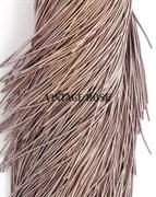 Канитель мягкая, 1 мм, Серо-коричневый