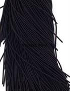 Витая канитель, 1,5 мм, Черная
