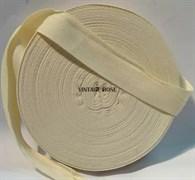 Лента киперная для натяжки ткани на станок, 25 мм, 1 метр