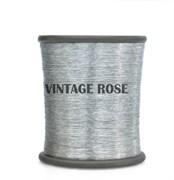 Нитки металлизированные, 1000 м, цвет Серебро