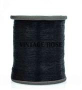 Нитки металлизированные, 1000 м, цвет Черный