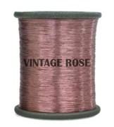 Нитки металлизированные, 1000 м, цвет Розовый