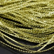 Сутаж тонкий,  золото, 1 мм