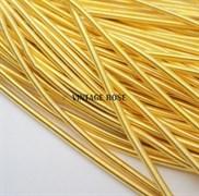 Канитель мягкая, 3 мм, Золото