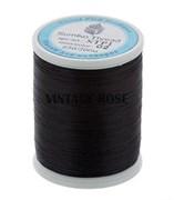 Нитки Sumiko Thread STP1-02 черные (для люневильской вышивки) (Черный)