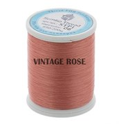 Нитки Sumiko Thread STP1-06 грязно-розовые (для люневильской вышивки) (Розовый)