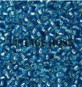 Бисер TOHO круглый 15 #0023 Внутреннее серебрение, аквамарин