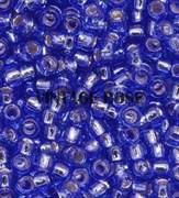 Бисер TOHO круглый 15 #0035 Внутреннее серебрение, сапфир