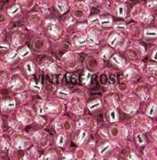 Бисер TOHO круглый 15 #0038 Внутреннее серебрение, розовый