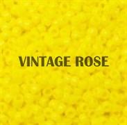 Бисер TOHO круглый 15 #0042 Матовый непрозрачный, желтый