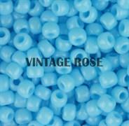 Бисер TOHO круглый 15 #0043 Непрозрачный, голубая бирюза
