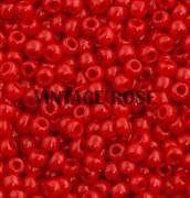 Бисер TOHO круглый 15 #0045A Непрозрачный, красный