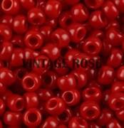 Бисер TOHO круглый 15 #0045 Непрозрачный, красный перец