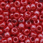 Бисер TOHO круглый 15 #0125 Непрозрачный глянцевый, вишня