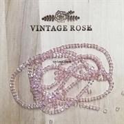 Граненые бусины, КУБ, розовые прозрачные, 2 мм, Чехия