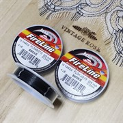 Fireline Smoke 4lb, серый, 0.12 мм, Файрлайн, 15 ярдов (14,1 метра)