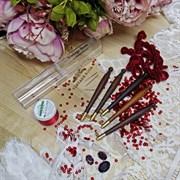 """Люневильский крючок с 4-мя иглами бренда Vintage Rose """"БОРДО"""" - фото 14361"""