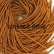 Витая канитель,1,5 мм, Оранжевая, 50 см (Оранжевый)