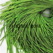 Канитель мягкая, 1 мм, Травяной глянцевый, 130 см