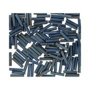 Стеклярус TOHO Bugle6 №612, 9mm , серый металлик радужный, 5 г