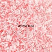 Стеклярус TOHO Bugle3 №145, 3мм, Розовый перламутр, 5г