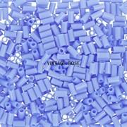 Стеклярус TOHO Bugle2 №43D, 3мм, Темно-голубой глянцевый непрозрачный, 5г