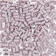 Стеклярус TOHO Bugle2 №52, Лиловый матовый, 3мм, 5г