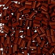 Стеклярус TOHO Bugle3 №46L, 3мм, Коричневый глянцевый, 5г